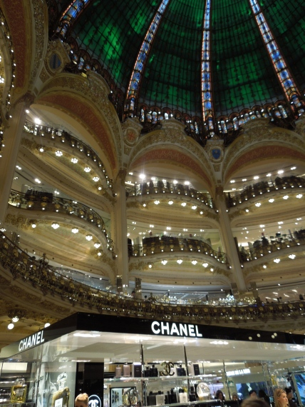 Ground floor of Galeries Lafayette
