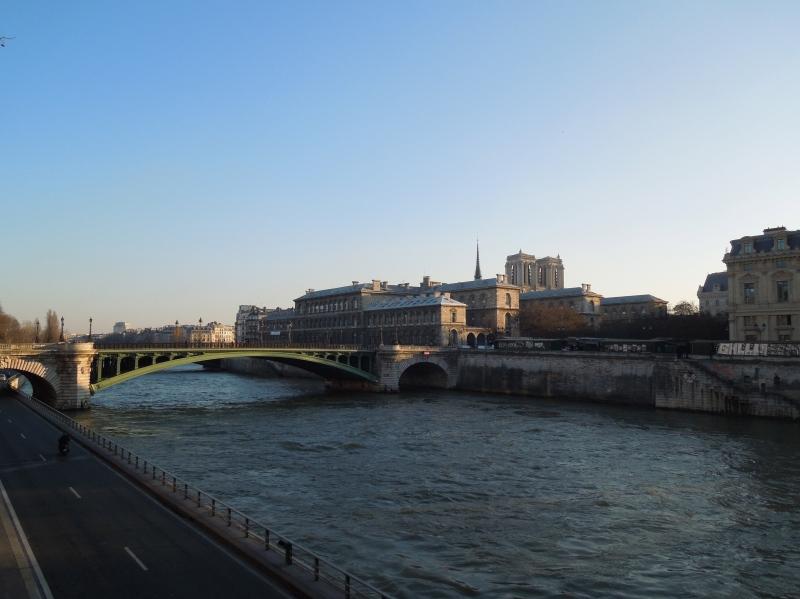 The Seine!
