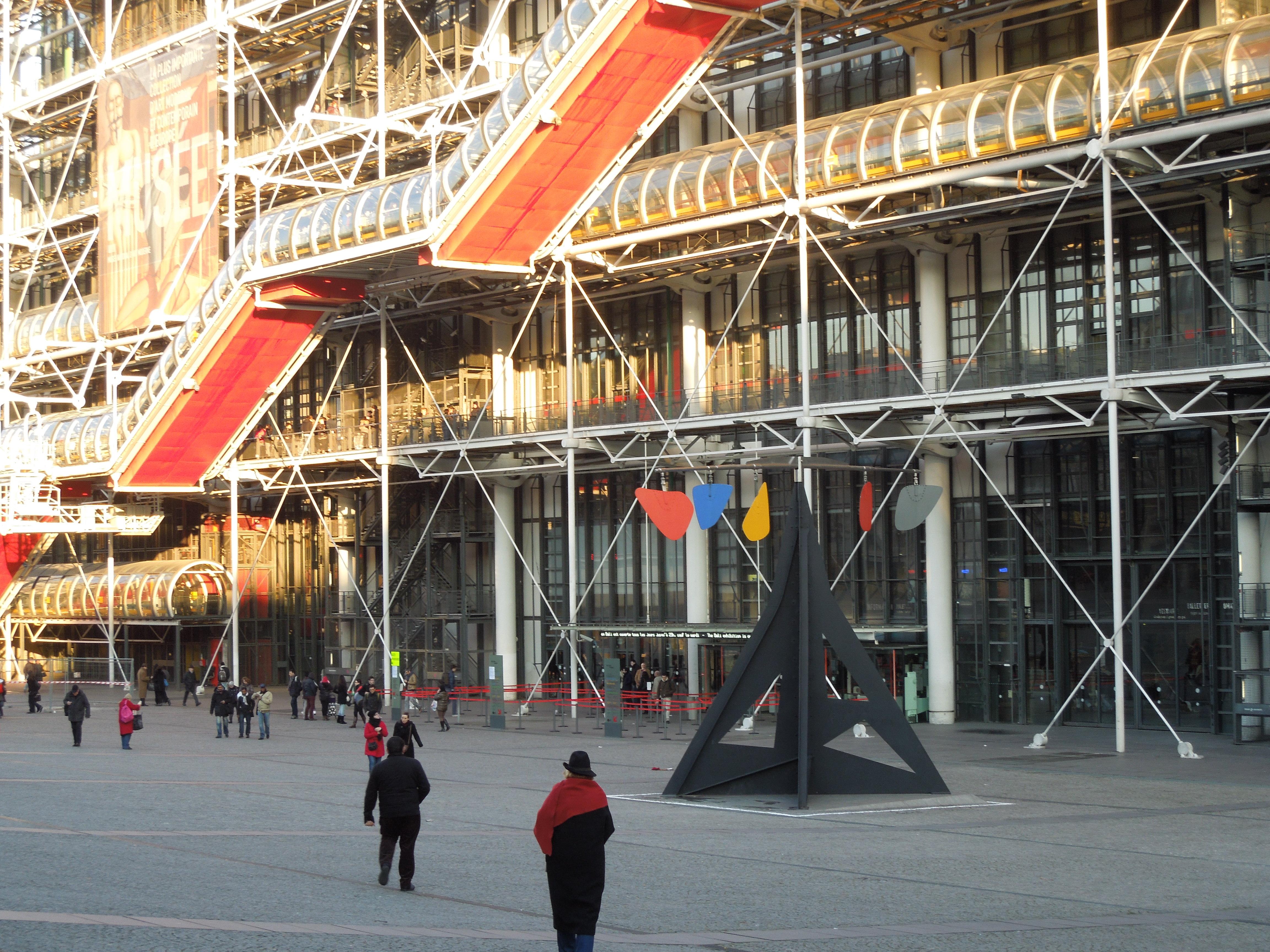 Art tasty adventures for Art minimal centre pompidou