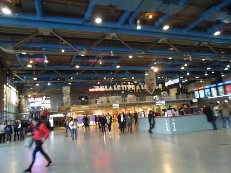 Inside le Centre Pompidou