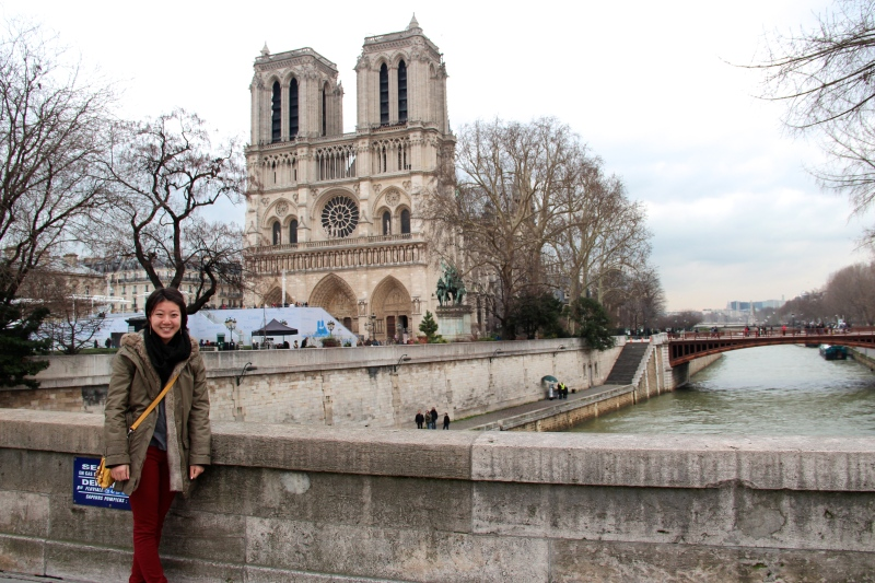 A visit to Notre Dame